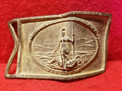 Virginia Sword Belt Plate